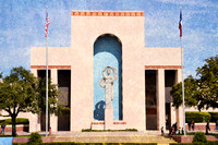 Beautiful Landmark, Art Deco building, Fair Park, Dallas, Texas